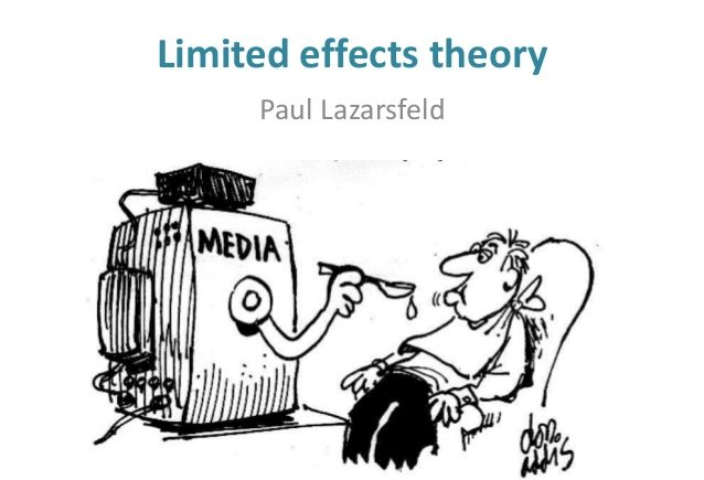 THE RISE OF LIMITED-EFFECTS THEORY