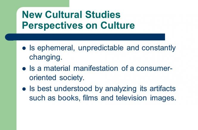Cultural Studies Perspectives on International Communication